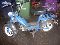 garelli classic italian moped