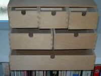 IKEA - Moppe drawer set