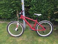 2014 Kona Shred - ( similar to cowan , stuff ) dirt jump dj am fr xc fun mtb mountain bike