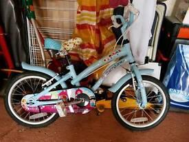 """Apollo Cherry Lane bicycle 16"""" Blue(child)"""