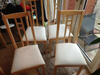4 ikea chairs