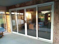 Twin Sliding Patio Doors 3600mm x 2200mm