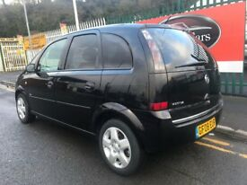 2008 (08 reg) Vauxhall Meriva 1.4 i 16v Breeze 5dr MPV Petrol Speed Manual Low Miles