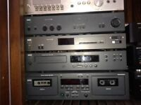NAD 3020i AMP NAD TUNER NAD CASSETTE TWIN DECK NAD CD PLAYER.