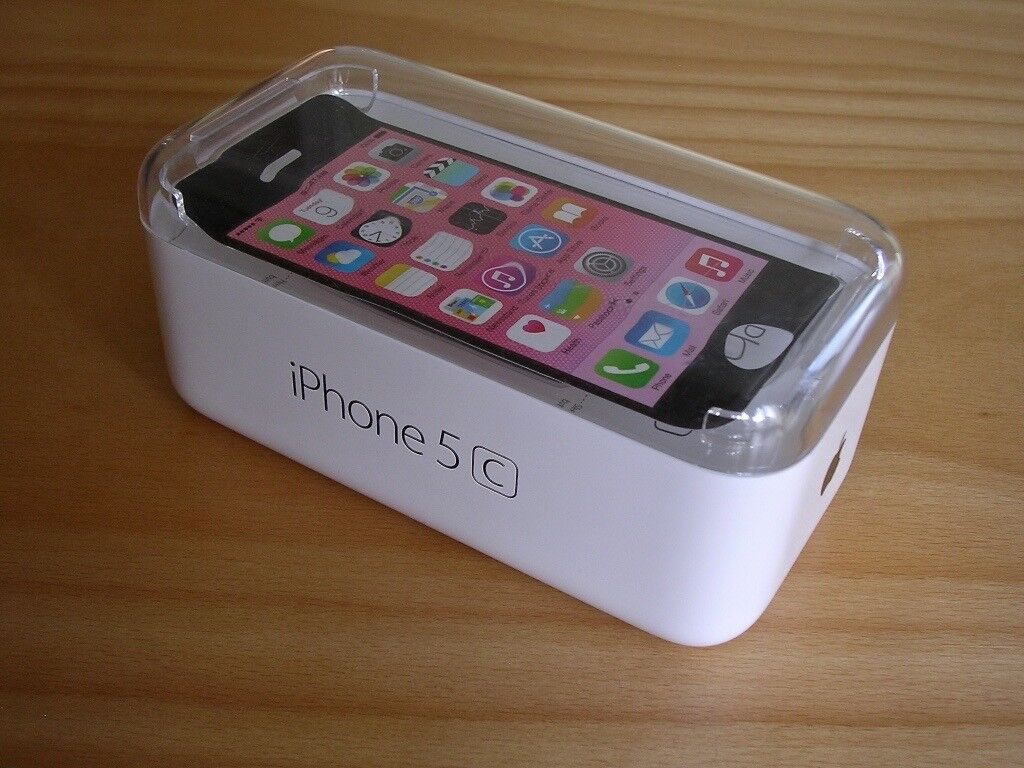 APPLE iPHONE 5C's BOX & INSERTS - Good Condition