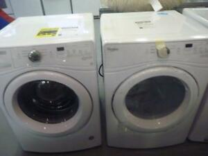 66-  RÉDUCTION  NEUF - Laveuse Sécheuse Frontales WHIRLPOOL DUET Frontload Washer and Dryer  - NEW