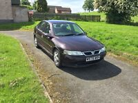 Vauxhall vectra 1.8 long mot service history good runer £275