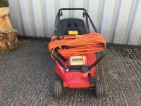 Mount field electric mower