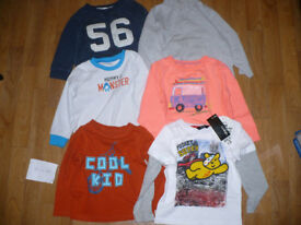 Bundle of 39 clothes for boy 18-24mths/ 18-24 mths/ 1.5-2 years/ 1.5-2years. In good condition.