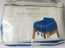 Travel high chair cover NEW