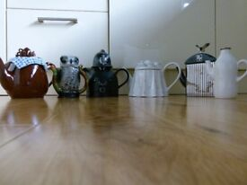Collection of 10 vintage novelty teapots carefully kept in storage since 1988