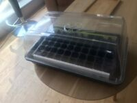 Propagator for seeds and 3 x 60 cell inserts from B&Q