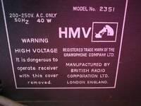 HMV radiogram 2351