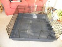 Guinea Pig /Rabbit Indoor Square Cage/Hutch - size 1 m x 1m x 45cm height