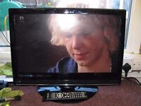 Matsui Black 22 Ins HD Ready Digital LCD TV,With Remote.