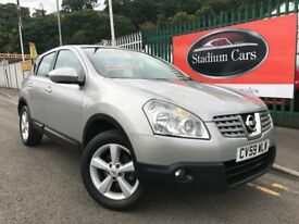 2009 (59 reg) Nissan Qashqai 1.5 dCi Acenta 2WD 5dr Hatchback Turbo Diesel 6 Speed Manual