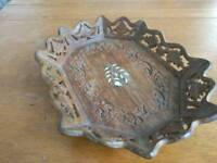 Wooden fruit tray