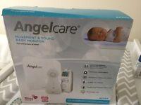 Brand New Angelcare AC403 Baby Monitor with under matress sensor