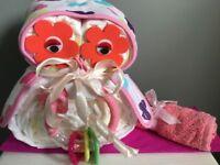 ‼️FREE POSTAGE⚠️ Baby boy Girl unisex Nappy Cakes