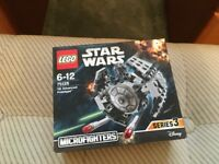 LEGO 75128 Star Wars Microfighters - TIE Advanced Prototype Set (New) - Collect Only