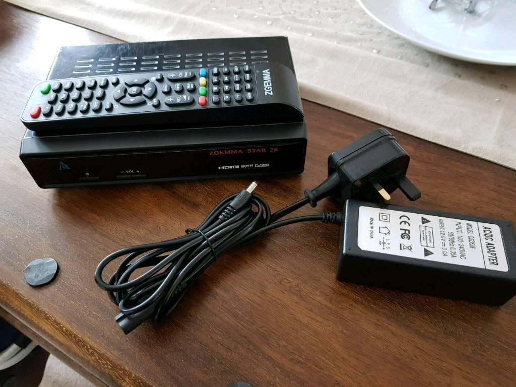 Zgemma Star 2s box, satellite receiver.