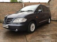 2008 SSANGYONG RODIUS 2.7 DIESEL not multipla jeep land rover zafira touran voyager 7 seater ml