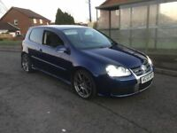STUNNING 2006 56 VW GOLF R32 LONG MOT SERVICE HISTORY 2 OWNERS PX WELCOME £5000