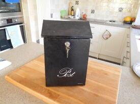 Metal locking Brabantia letter box