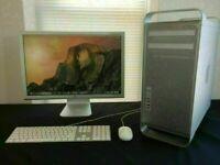 5.1 Apple Mac Pro 2.4Ghz 8 Core 16Gb Ram 2TB HDD Logic Pro X Ableton 10 Massive Reaktor Melodyne