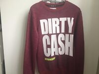 Beck & Hersey Dirty Cash Sweater - S