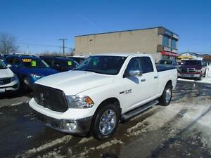 2014 RAM 1500 BIG HORN DIESEL!! RATES AS LOW AS 3.69% OAC -WOW-