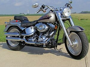 2008 harley-davidson FLSTF Fat Boy  Super Clean Fat Boy  ONLY 7,