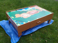 Children's Play Table with Two Storage Drawers FREE LOCAL DELIVERY
