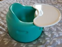 Aqua Bumbo with a detachable table