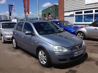 2006 Vauxhall Corsa Design 1.2 cdti Fsh Air Con Alloys 5 Door 12 months mot 3 months warranty