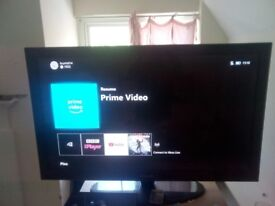 50 inch Samsung TV and 500gb Xbox one.