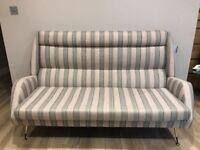 Sofa vintage, original 1970s - recently re-upholstered