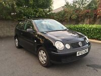 Volkswagen Polo Diesel Black, 12 month Mot !!!