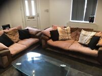 Two and three seater sofa for sale £70 only