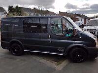 Ford Transit Sport, 59reg, SWB, Low miles, 5 seats