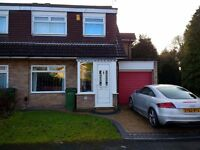 3 Bed Semi-Detached House for sale, Hazel Grove. South facing garden, new decking, new bathroom