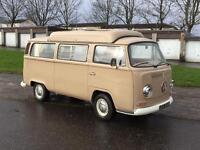 Vw bay window camper van