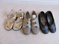3 pairs of ladies shoes for sale