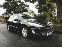 STUNNING O8 PEUGEOT 308 HDI*FULL SERVICE HISTORY 12 MONTHS MOT*astra golf leon corsa A3 focus polo