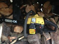 McCulloch Chainsaw good working order with oregon bar