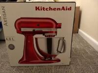 Kitchen Aid Stand mixer BNIB Caffe Latte