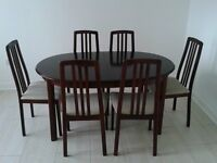 Dining Table and 6 matching Chairs by Morris of Glasgow