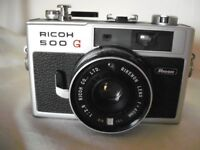 Ricoh 500G Rangefinder 35mm camera, collectable