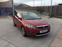 FORD FOCUS 2.0 AUTOMATIC CONVERTIBLE NEW MOT