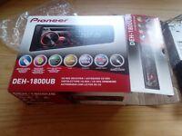 Pioneer car stereo DEH-1800UB